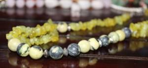 kalung batu hijau loreng + kerikil1